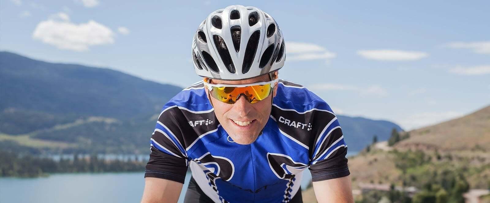 550b9bef9d23 Darren - Nordic Ski Coach Cycling at Kal Lookout wearing OAKLEY